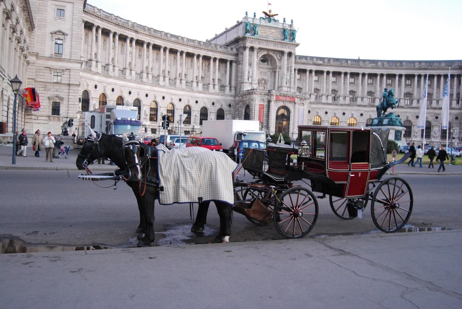 voyage road trip : place de Vienne