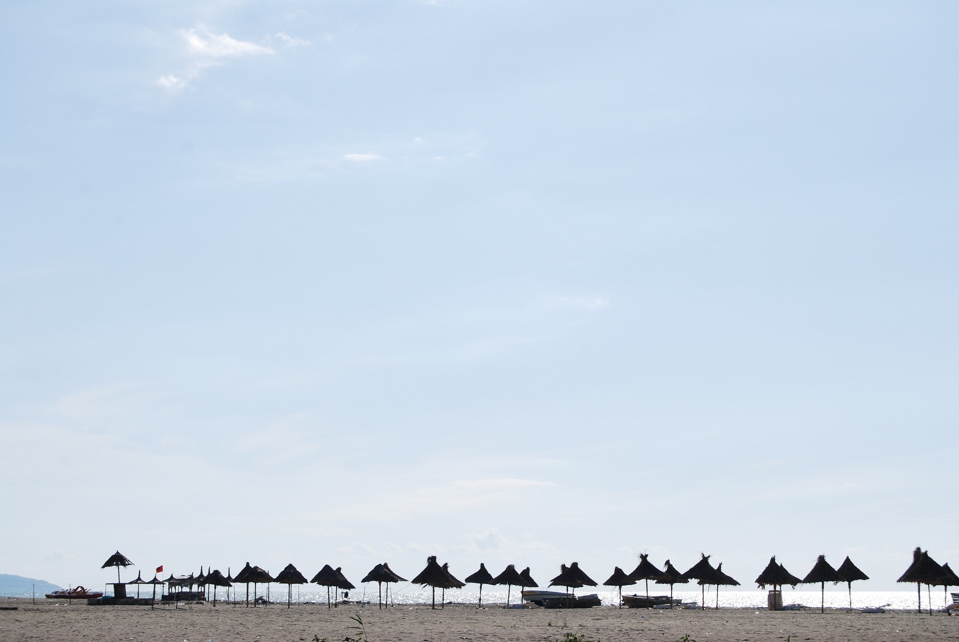 voyage road trip : une plage en Albanie