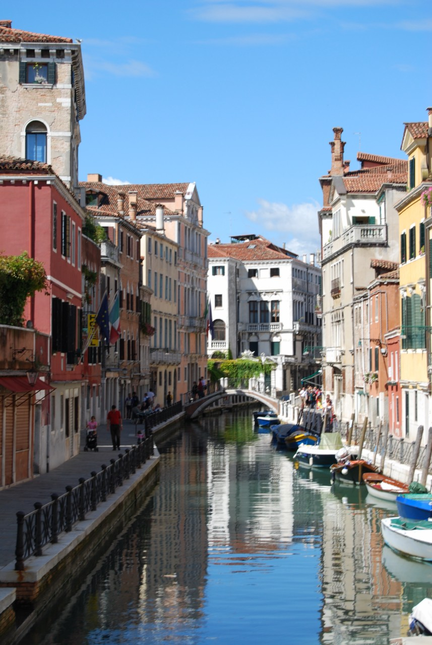 road trip découverte : canal de Venise