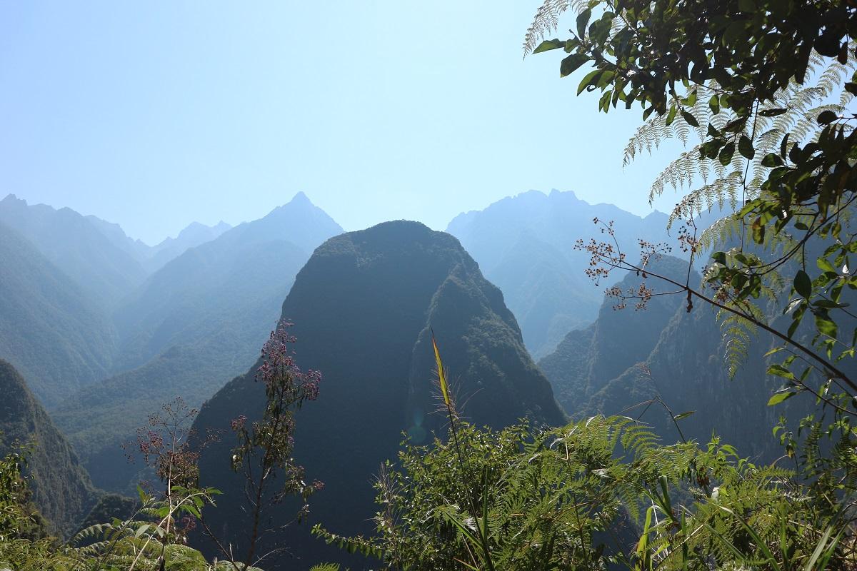 visite machu picchu : montagnes environnantes