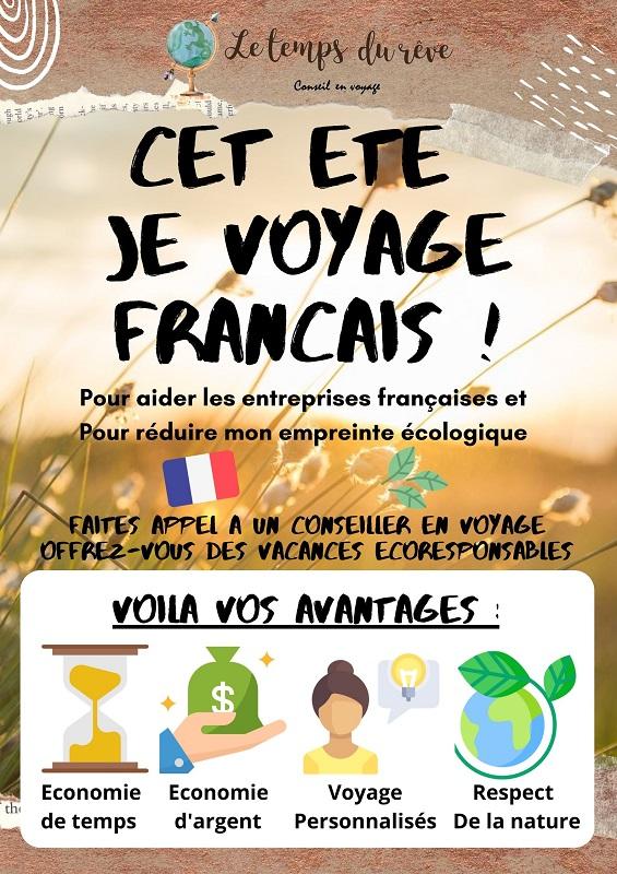 Le temps du rêve : Voyager français